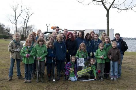 Scouting Look Wide deed mee met Nederland Schoon
