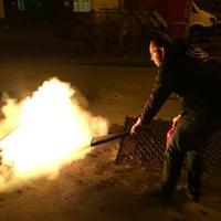 Peter dooft het vuur