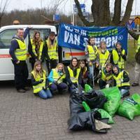 Scouting Look Wide maakt Nederland Schoon