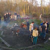 Kader aan het koken op Regio Kaderkamp